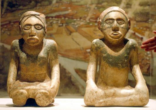 Etowah Painted Figures