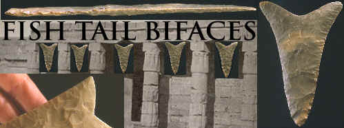 Banner for Fish Tail bifaces.