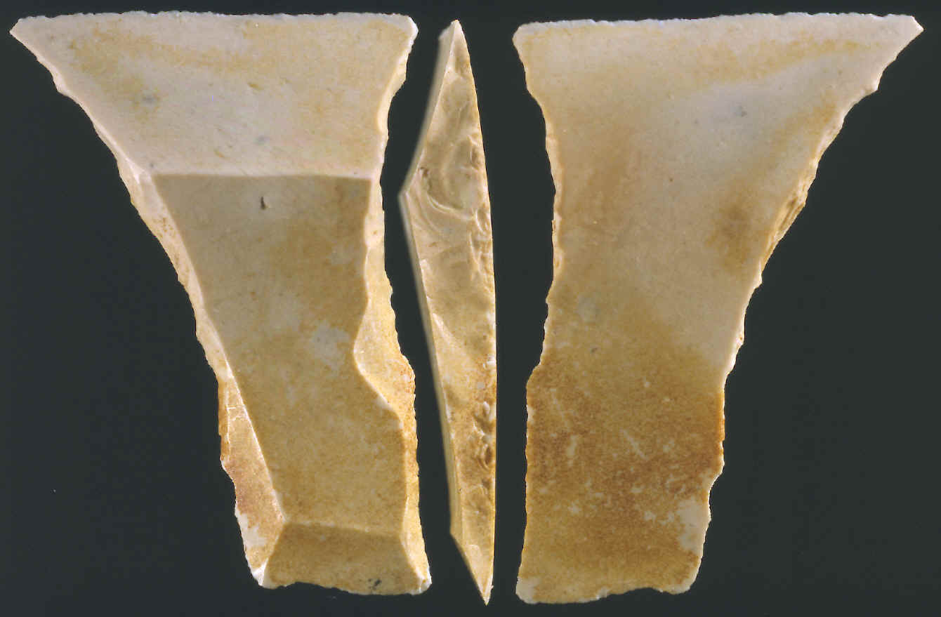 Transverse arrowhead from northern Europe.